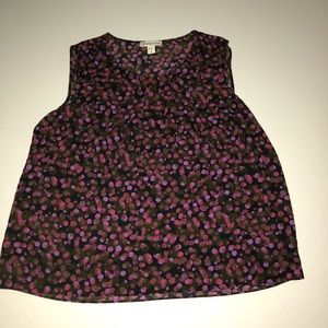 Coldwater Creek tank top blouse shirt xl 16 dot